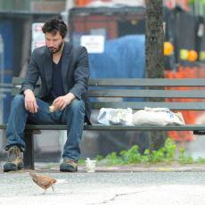 Matrix'in Neo'su Keanu Reeves'in Kameralara Yansıyan Mütevazı Yaşamı