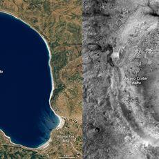 NASA, Perseverance Gezgininin Mars Görevi İçin Salda Gölü'nden Nasıl Faydalandı?