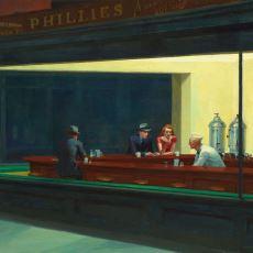 İnsanı Bakar Bakmaz Yalnız Hissettiren Edward Hopper Tablosu: Nighthawks