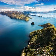 Dünya'nın, Üzerinde Gemi ile Ulaşım Sağlanabilen En Yüksek Gölü: Titicaca