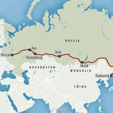 Dünyanın En Uzun Demiryolu Hattı: Trans Sibirya Demiryolu