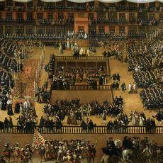Engizisyon Mahkemelerinde Verilen Ölüm Cezaları İçin Düzenlenen Tören: Auto-Da-Fe