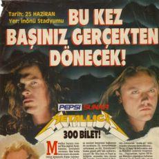 O Günü Bizzat Yerinde Yaşayanların Gözünden: 1993 Metallica İstanbul Konseri