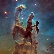Hubble'ın, Fotoğrafını Çekerek İnsanlığa Armağan Ettiği Muazzam Yapı: Yaratılış Sütunları