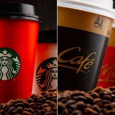 Starbucks Filtre Kahvesi vs. McDonald's Filtre Kahvesi