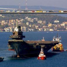 2001'de Yüzen Otel Olacak Yalanıyla Boğaz'dan Geçerek Uçak Gemisi Olan Varyag'ın Hikayesi