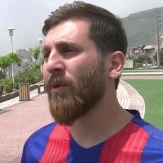 Lionel Messi'ye Kendisinden Daha Çok Benzeyen Enteresan Adam: İranlı Messi