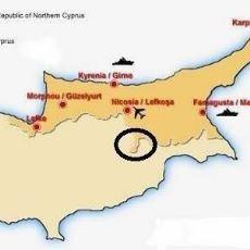 Kıbrıs Haritasında Rum Tarafına Doğru Uzanan Çıkıntının Sebebi Nedir?