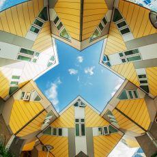 Benzersiz Mimarisiyle Turistlerin Uğrak Yerlerinden Biri Olan Evler: Cube House