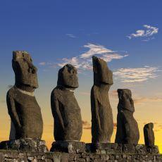 Paskalya Adası Efsanesi Moai Heykellerinin Nasıl Yapıldığıyla İlgili Ortaya Atılan Teoriler