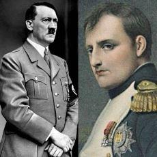 Doğumları Arasında 120 Yıl Olan Hitler ve Napolyon Arasındaki Şaşırtıcı Benzerlikler