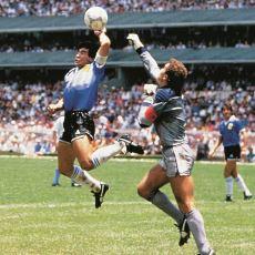 """Maradona'nın 1986 Dünya Kupası'nda """"Tanrı'nın Eli""""yle Attığı Golün Hikayesi"""