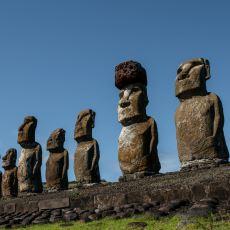 Nasıl Yapıldıkları Konusuna Hala Akıl Sır Erdirilemeyen Paskalya Adası Efsanesi: Moai