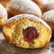 Tek Seferde Birkaç Tanesini Yiyebileceğiniz Üstü Kapalı Alman Donut'ı: Berliner