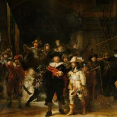 Hollandalı Ressam Rembrandt'ın En Ünlü Tablosu: The Night Watch