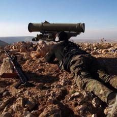 Zeytin Dalı Harekatı Esnasında YPG'li Teröristlerin Kullandığı Silahlar
