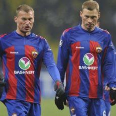 CSKA Moskova'nın, Eşlerinden Çok Birbirlerini Gören Efsane Savunma Dörtlüsü