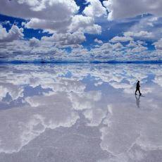 Masal Gibi Görüntülerin Oluşmasını Sağlayan Doğal Aynalar: Salt Flats