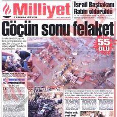 İzmir'de 5 Kasım 1995'te 61 Kişinin Ölümüne Sebep Olan Sel Felaketi