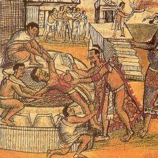 En Bilinen Özellikleri İnsan Kurban Etmek Olan, Yok Edilmiş Halk: Aztekler
