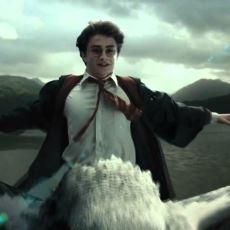 Harry Potter'ın Şahgaga'nın Sırtına Bayağı Bayağı Eyersiz Binmesi