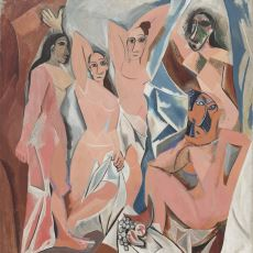 Kübizm Akımının Başlamasına Neden Olan Picasso Tablosu: Avignonlu Kızlar