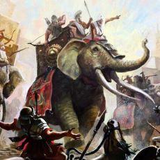 Girdiği Hiçbir Savaşı Kaybetmeyen Timur'un Ordusundaki Filleri