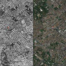 Şehirlerin Nereden Nereye Dedirten, Eski ve Yeni Hallerinin Google Earth Fotoğrafları