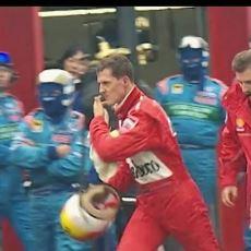 F1'in Unutulmaz Olaylarından Biri: Schumacher'in McLaren Garajını Basması