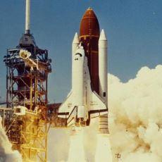 Fırlatılmasından Kısa Bir Süre Sonra Tüm İnsanların Gözü Önünde Parçalanan Uzay Mekiği Challenger