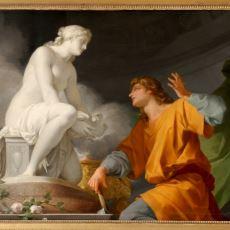 Antik Yunan'da Yaptığı Heykele Aşık Olan Bir Heykelraş: Pygmalion