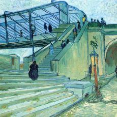 Van Gogh'un Trinquetaille Köprüsü Resmindeki İnce Dualite