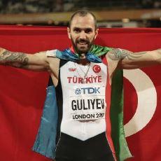 2017 Dünya Atletizm Şampiyonası 200 Metrede Ülkemize Altın Madalya Getiren Ramil Guliyev