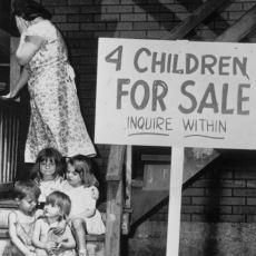 Amerika'nın Büyük Buhran Döneminde Annesi Tarafından Satışa Çıkarılmış 4 Çocuğun Olaylarla Dolu Hayatları