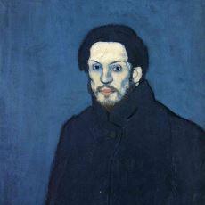 Pablo Picasso'nun Kendini Resmettiği Portrelerinin Zaman İçindeki Ürpertici Değişimi