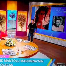 """Sabahattin Ali'nin """"Kürk Mantolu Madonna"""" Romanında Şarkıcı Madonna'nın Anlatıldığını Zanneden Televizyon Sunucusu"""