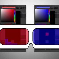 3 Boyutlu Gözlükle Günde 1 Saat Tetris Oynayarak Göz Tembelliğini Yenmek