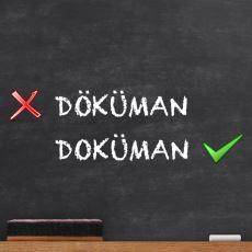 Türkçede Genellikle Yanlış Yazılan Kelimeler
