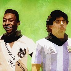 30 Yıllık Geçmişiyle Futbol Dünyasının En Uzun Kıyası: Pele vs Maradona