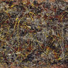 """Pollock'un Saçma Görünen Tablosu """"No.5 1948"""" Nasıl 140 Milyon Dolara Satılabildi?"""