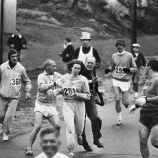 İsmini Değiştirerek Boston Maratonu'nda Koşmayı Başaran İlk Kadın Kathrine Switzer'in Gurur Dolu Öyküsü