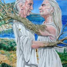 Ölüm Zamanı Ihlamur ve Çınar Ağacına Dönüştüğü Anlatılan Baukis ile Philemon Efsanesi