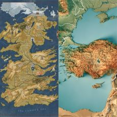 Game of Thrones'taki 7 Krallığın, Türkiye'nin 7 Coğrafi Bölgesine Benzemesi