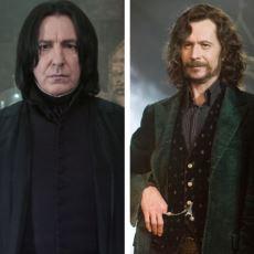 Harry Potter'ın Dünyasını Şekillendiren İki Karakterin Kıyası: Severus Snape mi, Sirius Black mi?