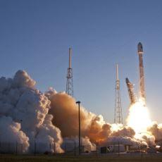 Fırlatılma Testi Sırasında Patlayan SpaceX Falcon 9 Roketi'nin Patlama Görüntüleri