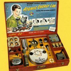 İçinde Radyoaktif Madde Bulunan Korkunç Oyuncak: Atomik Enerji Laboratuvar Seti