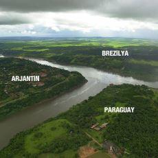 Üç Ülkeyi Birbirinden Ayıran Parana Nehri ve Sunduğu Olağanüstü Manzara