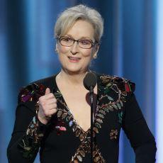 Meryl Streep'in Altın Küre Ödül Töreni'nde Trump'a İthafen Yaptığı Duygusal Konuşma