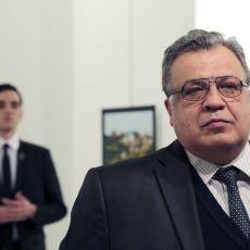 Rus Büyükelçisine Düzenlenen Suikast Esnasında Çekilmiş İnanılmaz Fotoğraf Kareleri