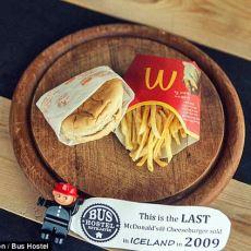 İzlanda'da Satılan ve Şu Anda 7/24 Canlı Olarak İzlenebilen Son McDonald's Hamburgeri